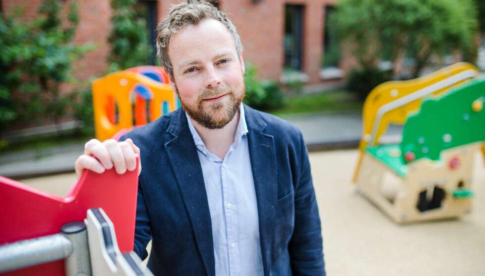 BLE PAPPA IGJEN: Kunnskapsminister Torbjørn Røe Isaksen (H) er blitt far for annen gang. Foto: Audun Braastad / NTB scanpix