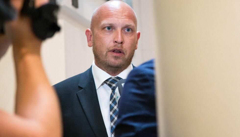 FORSVARER: Henrik Bliksrud er forsvarer for lokalpolitikeren som nå er dømt for bortføringen. Foto: Audun Braastad / NTB scanpix