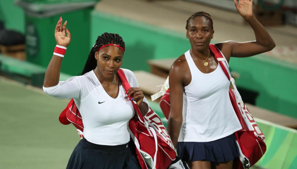 BLIR OMTALT: På hackernes nettside kan man lese om det som skal være Serena og Venus Williams' medisinske fritak. Foto: Jeff Swinger / USA TODAY Sports / NTB Scanpix