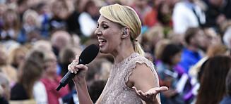 Her går det galt for den svenske sangeren på direkten: - Er det noen som husker verset mitt?