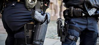 Vurderer ny bevæpning av norsk politi etter IS-trussel mot Sverige