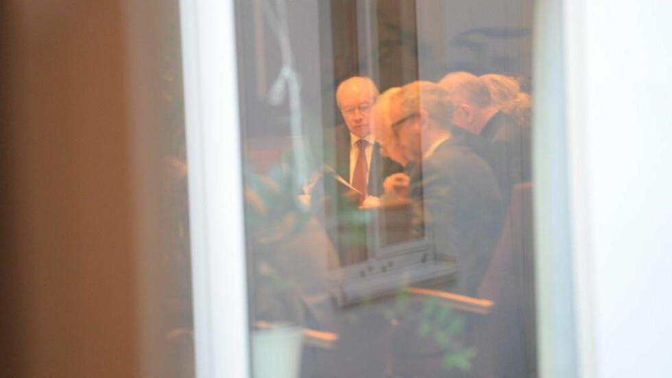 KRISEMØTE: Kontrollkomiteen hadde i dag krisemøte. Dette bildet er fra en tidligere anledning. Foto: Arne Hoem
