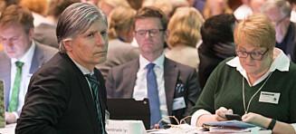 Alle Venstre-representantene trykket på feil knapp. Felte forslag om våpeneksport i Stortinget