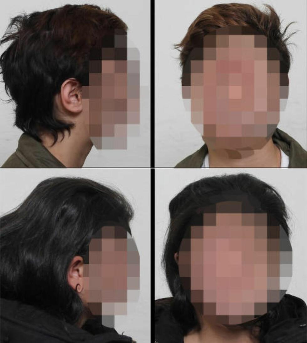 POLITIBILDER: Dette er etterlysningsbildene av de to jentene - den yngste av de to jentene, på henholdsvis 15 og 17 år, er øverst. Begge bildene er distribuert av norsk politi via Europol. Foto: Politiet