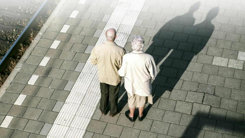 PENSJONSFELLE: Du kan tape mye på å bli ufør før 67. Foto: NTB Scanpix