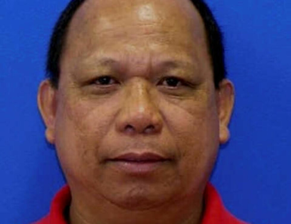 PÅGREPET: Eulalio Tordil (62) er pågrepet, mistenkt for tre drap det siste døgnet. Foto: Montgomery County Maryland Police Department / Handout via Reuters / NTB scanpix