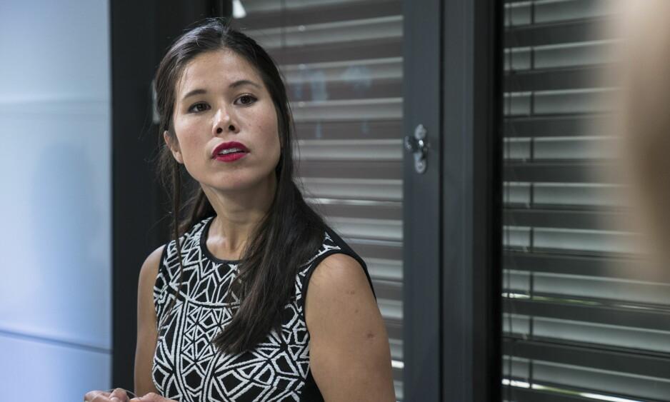 - UAKSEPTABELT: - Det er uakseptabelt at aktører bryter arbeidsmiljøloven gjentatte ganger, med eller uten dispensasjon, sier byråd Lan Marie Ngyuen Berg (MDG). Foto: Øistein Norum Monsen, Dagbladet.