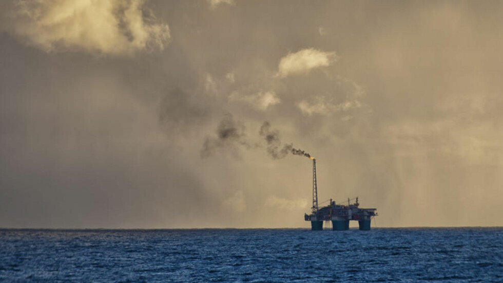 ØKTE:  Økningen har vært størst i industrien og i petroleumssektoren. Utslippene fra utvinning av olje og gass steg med 2,3 prosent.  Foto: Per Eide / Samfoto