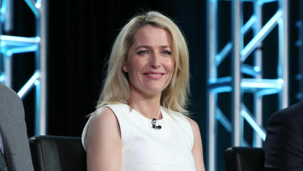 DANA BOND?: Gillian Anderson spilte Dana Scully i «X Files». Og det virker ikke som hun har noe i mot å spille Bond heller. Foto: NTB Scanpix
