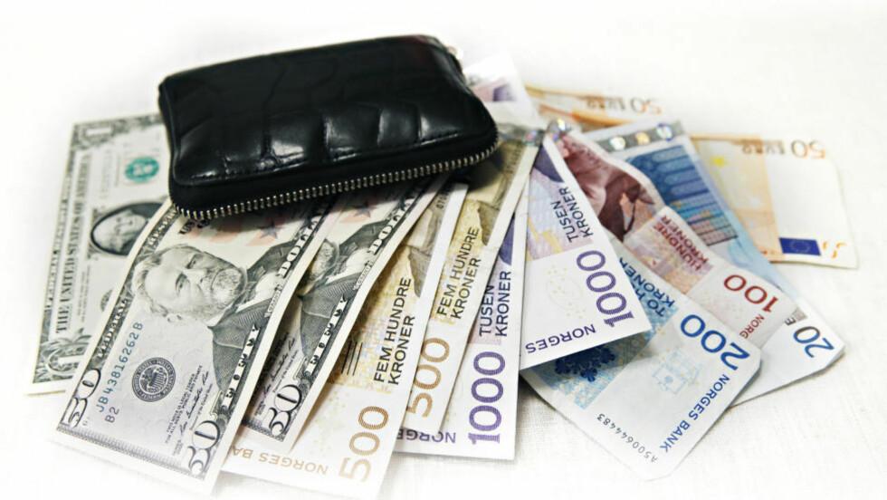 MER I LOMMEBOKA: Sparemålet ditt avgjør hvor du bør plassere sparepengene dine. Foto: Jeanette Landfald