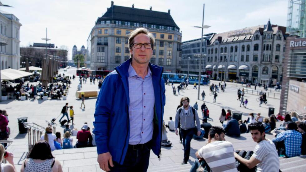 BEKYMRET: Rudolf Christoffersen, sambandspolitiadvokat for Eurojust i Haag, kommer med urovekkende informasjon om utnytting av barn. Foto: Arne V. Hoem / Dagbladet