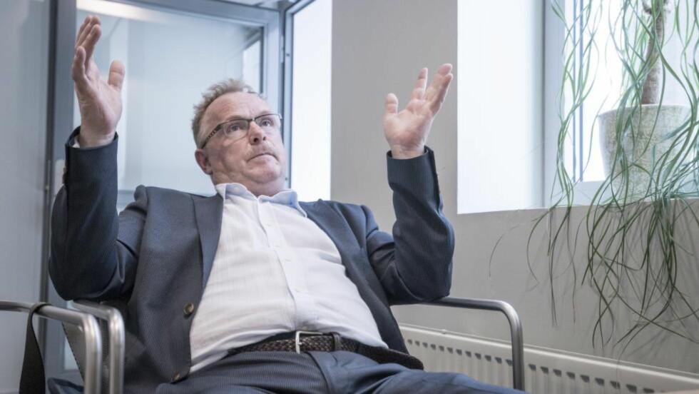IKKE OPTIMALT: I et Frp-perspektiv blir ikke reformen optimal, spår Per Sandberg (Frp). Han tror imidlertid ikke at regjeringen mislykkes ut fra regjeringserklæringa sier skal være ambisjonene for reformen. Foto: Øistein Norum Monsen / Dagbladet