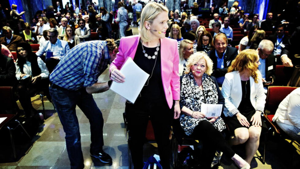 NEDSTEMT? Innvandrings- og integreringsminister Sylvi Listhaug presenterte integreringsmeldingen 11. mai. Nå ser det ut til at flere av innstramningsforslagene hennes stemmes ned i Stortinget. Foto: Nina Hansen / Dagbladet