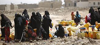 6400 er drept i Jemen. Norge øker salg av sivilt og militært utstyr til flere av partene