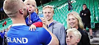 - Mine tre sønner er de tre største talentene på Island