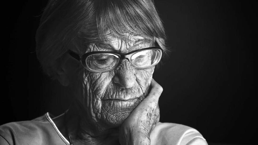 """BARE EN BRIKKE: 105 år gamle Brunhilde Pomsel omtaler seg selv som en liten brikke i et stort apparat - men sier i en ny film at propagandaminister Josef Gebbels var """"et svin"""".  Foto: Filmfest München 2016"""