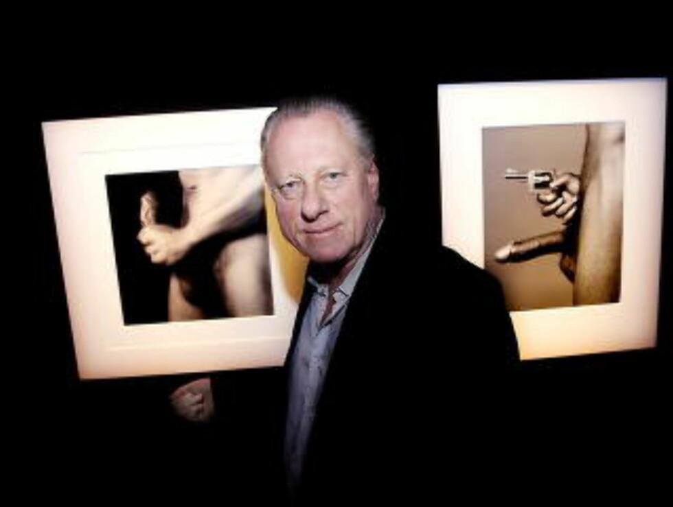 FORNØYD: Museumsdirektør Stein Olav Henrichsen er glad for å kunne stille ut Mapplethorp bilder sammen med Munch. Foto: Jacques Hvistendahl / Dagbladet