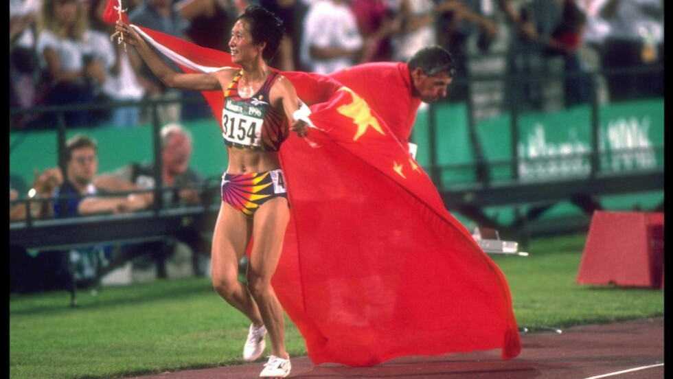 SKAL HA DOPET SEG: Wang Junxia skal ha innrømmet systematisk doping i et brev som er 19 år gammelt. Foto: NTB Scanpix