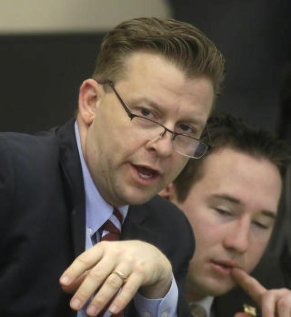 PORNO-NEKT: Republikaneren Todd Weiler vil at pornografi skal defineres som et folkehelseproblem i USA. Foto: Rick Bowmer / AP / NTB Scanpix