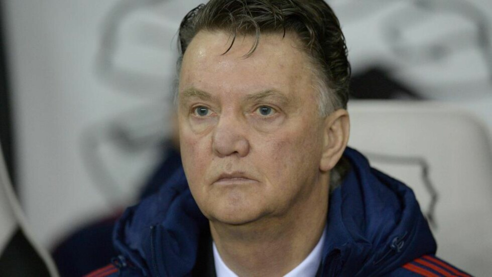 LEI: Manchester United-manager Louis van Gaal. Foto: AFP / OLI SCARFF / NTB Scanpix