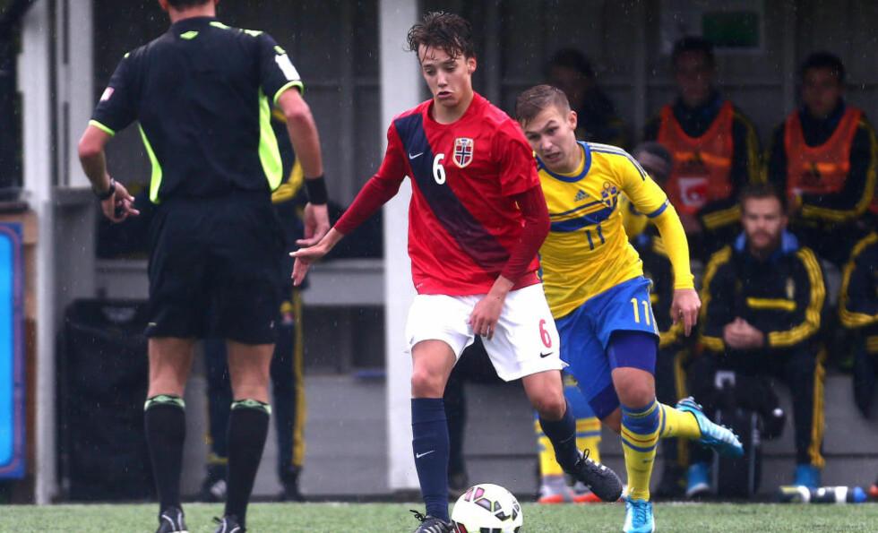 VIL SPILLE FOR NORGE:  Colin Rösler har bestemt seg. Han vil spille for Norge. Neste uke spiller han mot England for Norge. Foto: Digitalsport.