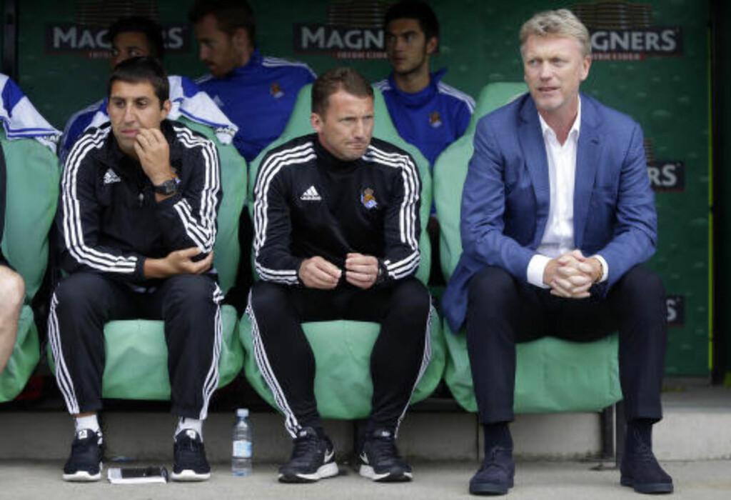 JOBBET SAMMEN: McKinlay var Moyes' assistent i La Liga-klubben Real Sociedad. Foto: Scanpix
