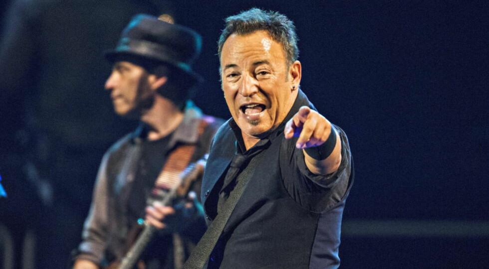 SKRIVER SELVBIOGRAFI: Rockeren Bruce Springsteen gjør forfatter av seg når han lanserer selvbiografien «Born To Run» til høsten. Foto: Lars Eivind Bones / Dagbladet