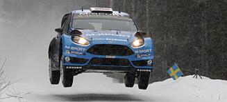Østberg klinket til med pallplass i Rally Sverige