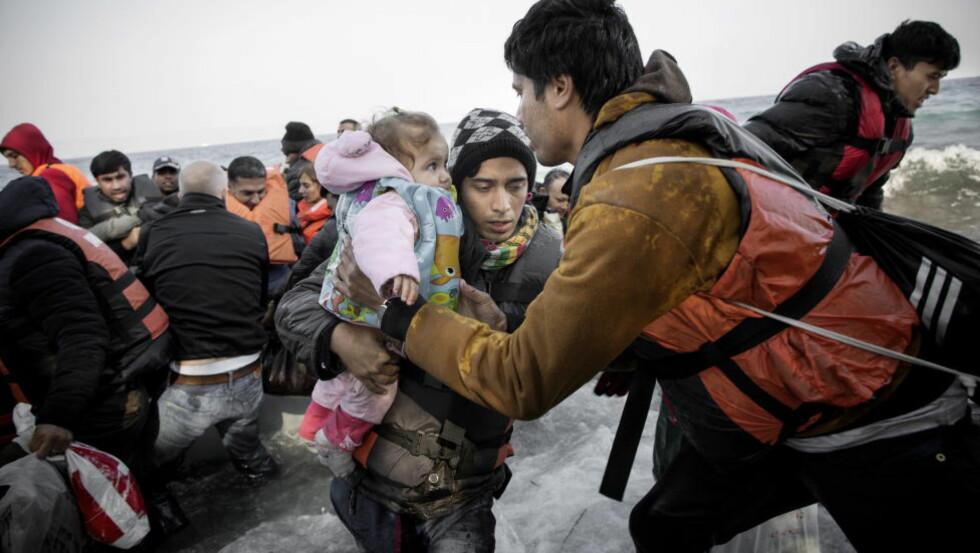 LAVERE ARBEIDSDELTAKELSE: Mange av flyktningene som kommer til Norge sliter med å komme i jobb.  Foto: Tomm W. Christiansen / Dagbladet