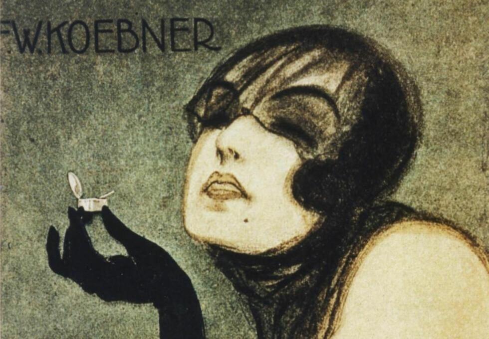 ANNONSE: I en annonse i Dagbladet for «Coca» i 1877, kunne man lese om kokaplantens helbredende virkninger på nerveforstyrrelser, og på svekkelser som blodmangel, menstruasjonsplager og kjønnslige tilstander som både impotens og hang til onani. Her en plakat fra Berlin fra 1920-tallet. Foto: NTB Scanpix