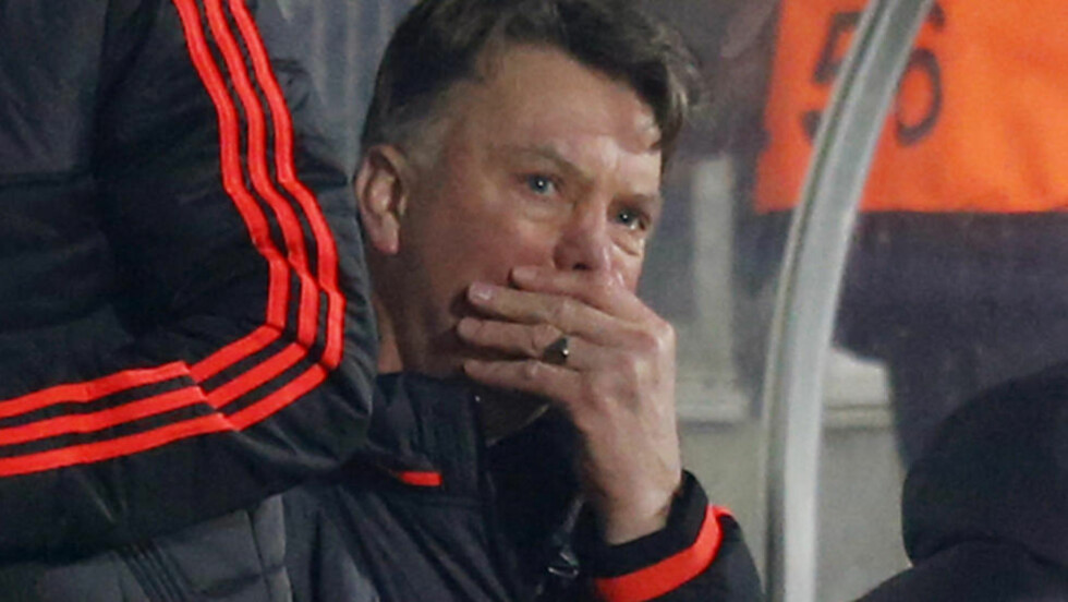 KRISE: For United-manager Louis van Gaal. Foto: Reuters / Paul Childs  EDITORIAL USE ONLY.