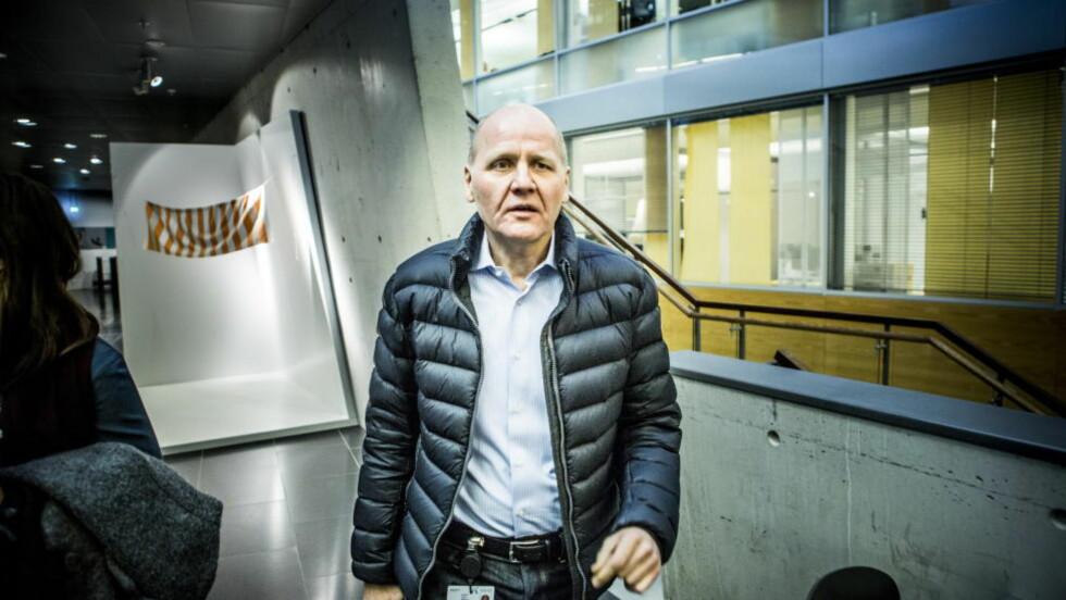 TELENOR-SJEF: Sigve Brekke. Foto: Christian Roth Christensen / Dagbladet