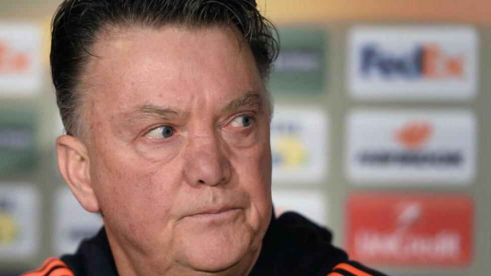 HARDT PRESSET: Louis van Gaal får hard medfart etter gårsdagens tap. Foto: NTB / Scanpix