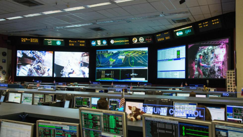 TRENES HER: Når NASA har gjennomgått alle de 18 300 søknadene, vil de plukke ut noen ytterst få som vil få starte opp astronauttreningen ved  Johnson Space Center. Foto: Bill Stafford/NASA