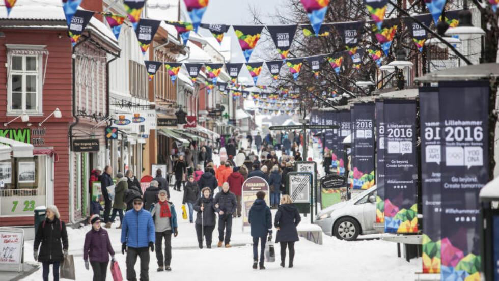PÅ GAMLE TRAKTER:  Lillehammer er et opplagt valgt som OL-arena i Norge etter at byen på nytt leverte et flott arrangement..Blir det full gågate igjen allerede i 2026? FOTO: Paul Kleiven / NTB scanpix.