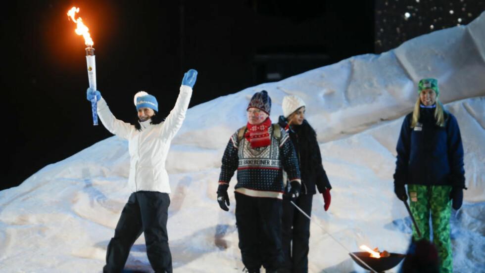 SUNT NORSK IGJEN?  Marit Bjørgen og Ungdoms-OL ble suksess stor nok til å gi Norge vinterlekene allerede i 2026. Tanken er nå å  dele opplevelsene på flere byer for å få et bredere folkelig engasjement. FOTO: Terje Pedersen / NTB scanpix.