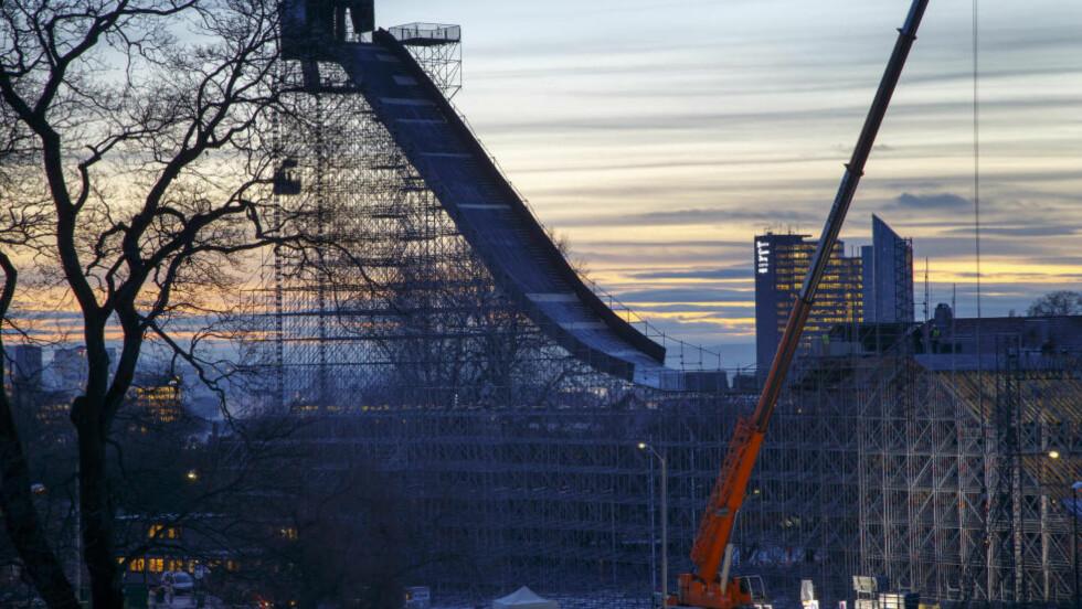 NESTEN ALT KLART :  I X-Games i Oslo er nesten alt klart. Bortsett fra dopingkontrollen. Det nekter de amerikanske TV-eierne, og TV2 føyer seg. FOTO: Heiko Junge / NTB scanpix.