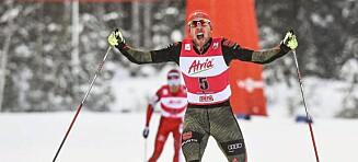 Rydzek sørget for at Watabe fikk sin åttende (!) andreplass denne sesongen