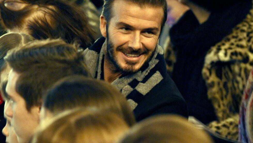MÅ VINNE FA CUPEN: David Beckham mener United har én mulighet til å redde sesongen. Foto: REX/Shutterstock