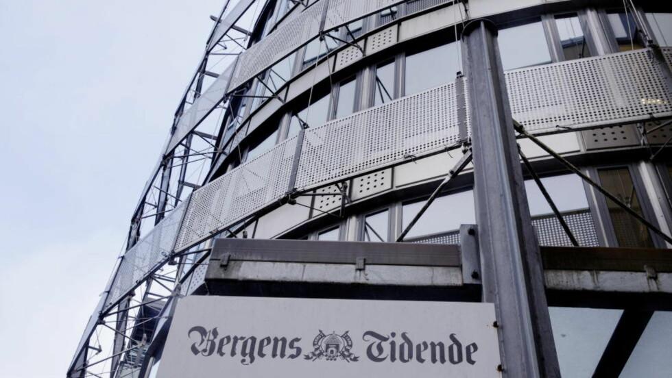 SLUTTPAKKE:  Ti ansatte Bergens Tidende får i dag tilbud om sluttpakke. Foto: Paul S. Amundsen
