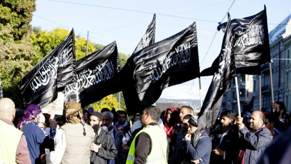KRITISK TIL ALLAHS SODLATER:  Ronny Alte er kritisk til at en gruppe som kaller seg for «Allahs soldater» har planer om patruljere gatene i Norge. Foto: Sara Estiri/ Dagbladet