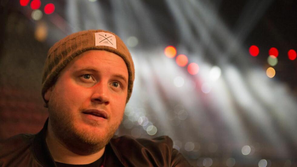 KLAR FOR KALAS: Freddy Kalas' låt «Feel Da Rush» vinner MGP - skal vi tro strømmetallene. Men ifølge våre nordiske kolleger går det derimot en helt annen vei. Foto: Arne V. Hoem / Dagbladet