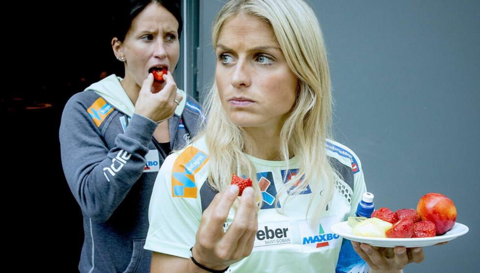 LANGRENNSDRONNING:  Therese Johaug. Foto: Bjørn Langsem