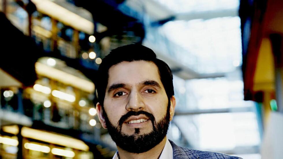 "NY BOK: Usman Rana, mangeårig debattant, skribent og lege, kommer i disse dager ut med boka «Norsk islam ? hvordan elske Norge og Koranen samtidig"". Foto: Jacques Hvistendahl / Dagbladet"
