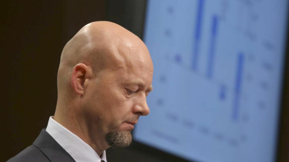 PENGER UT: Administrerende direktør Yngve Slyngstad i Statens pensjonsfond utland. Foto: Terje Pedersen / NTB scanpix