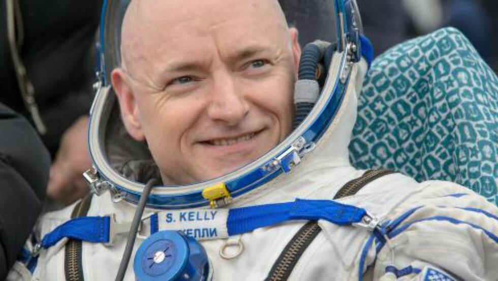 Da astronaut Scott Kelly kom tilbake etter ett år i rommet, var han høyere enn tvillingbroren