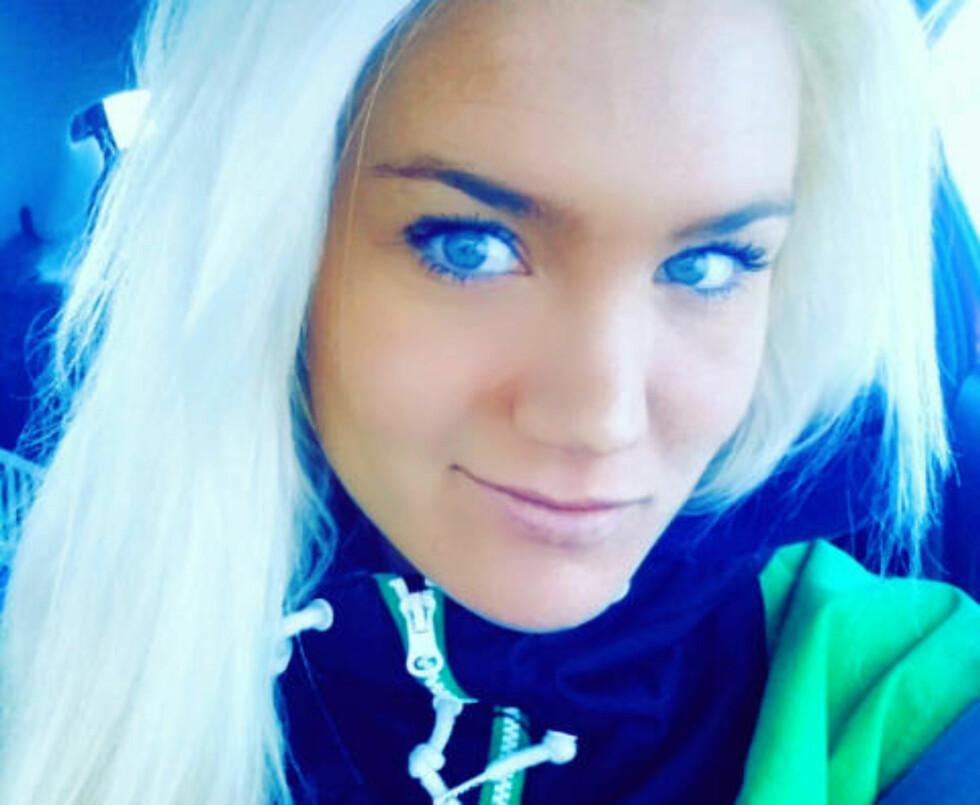 ØNSKER STRAFFEREAKSJON: Blogger Lotte Hoel har gått hardt ut mot vitseposterne og ønsker at de blir straffet. Foto: Privat