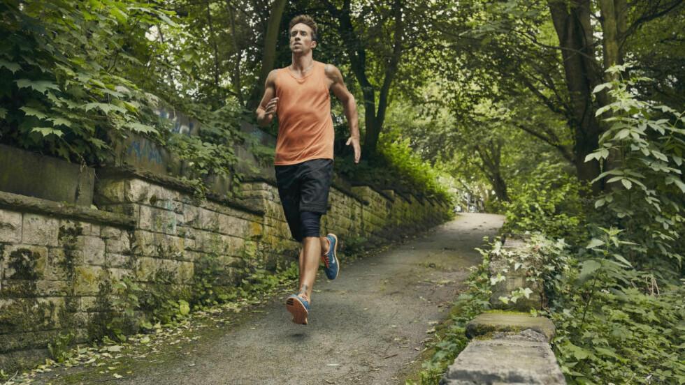IKKE LANG UT: Løpsteknikk er avgjørende når du skal bli bedre på å løpe nedover. Foto: NTB Scanpix