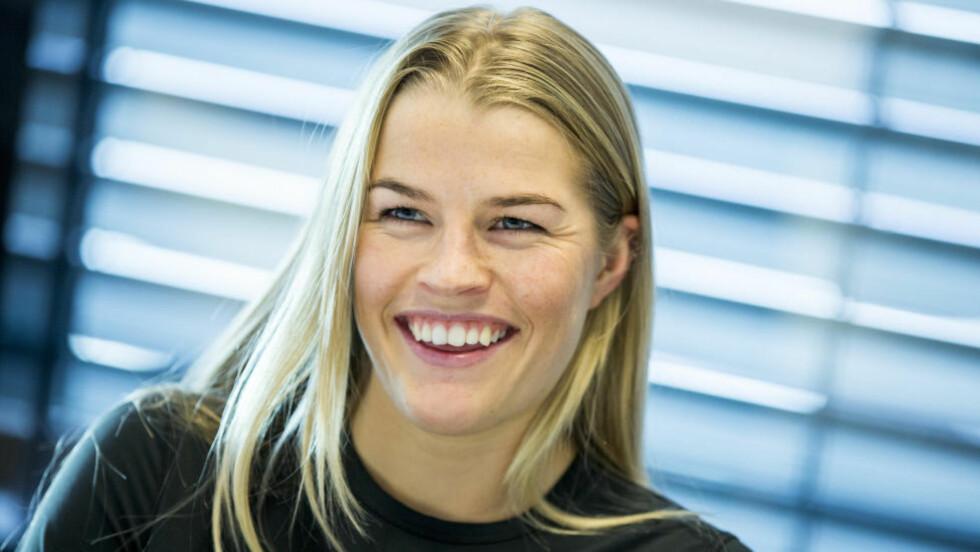 LEVERTE: Hedvig Wessel (20) kjørte inn til sin aller første pallplass i verdenscupen da hun ble nummer tre i kulekjøring i Russland lørdag. Foto: Vegard Wivestad Grøtt / NTB scanpix