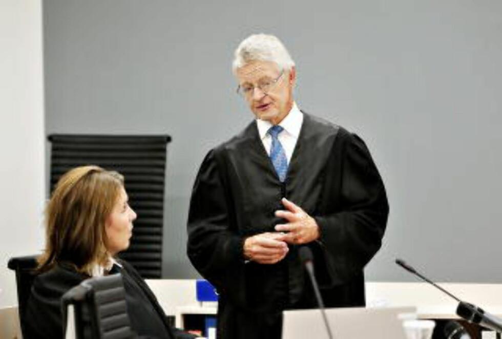 BLE LURT: Advokat Harald Stabell er positv til at Malthe-Sørenssen endelig har lagt kortene på bordet og erkjent bløff. Foto: Nina Hansen / Dagbladet